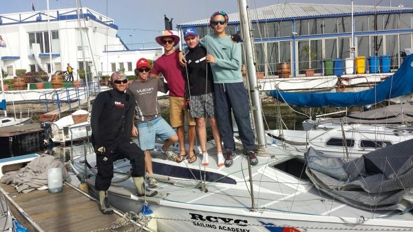 Sail Training 09.05.2015