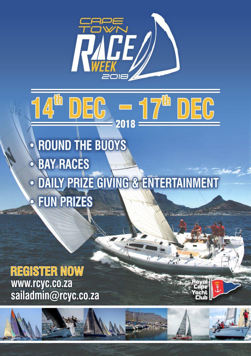 Cape Town Race Week 14th – 17th Dec 2018